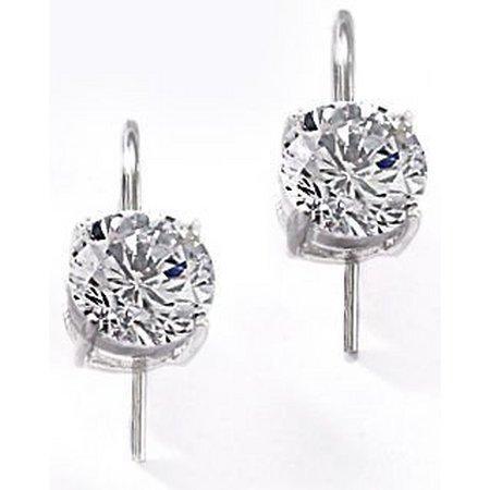 Bay Studio Cubic Zirconia Round Drop Earrings