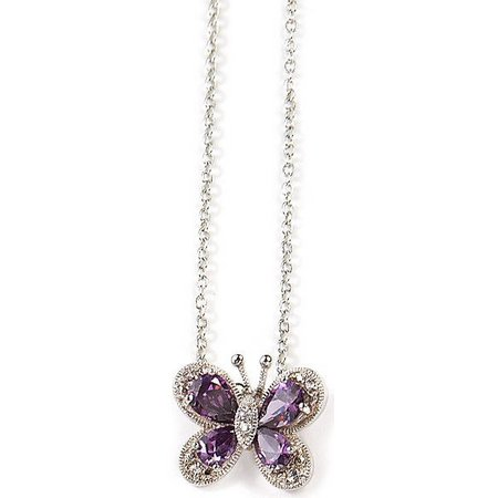 Bay Studio Butterfly Pendant Necklace