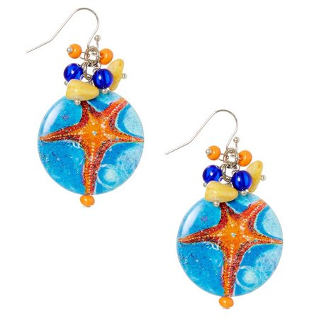 Leoma Lovegrove Celebrity Starfish Earrings