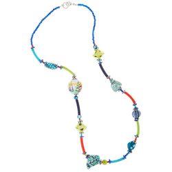 Leoma Lovegrove Making Waves Long Beaded Necklace