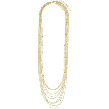 Bay Studio Multi Row Chain Necklace