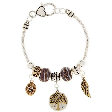 Be Charmed Family Tree Charm Bracelet