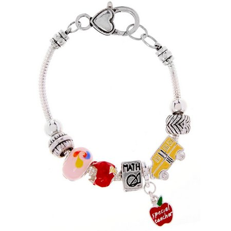 Be Charmed School Teacher Charm Bracelet