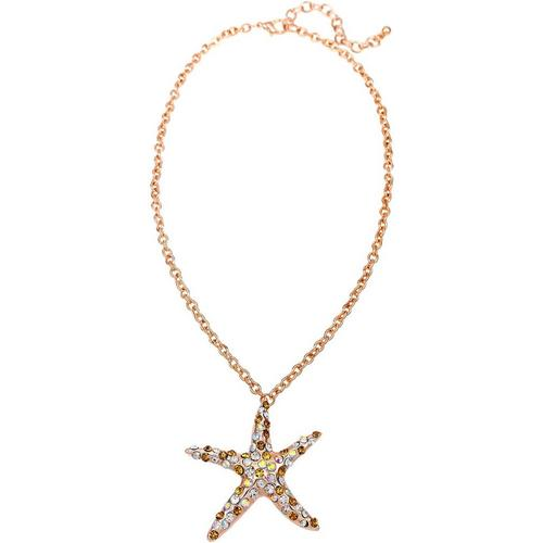 Paradise shores rhinestone starfish pendant necklace bealls florida paradise shores rhinestone starfish pendant necklace aloadofball Choice Image