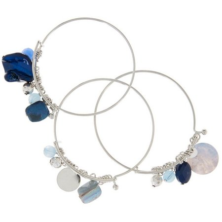 Coral Bay 3-pc. Blue Multi Shell & Bead