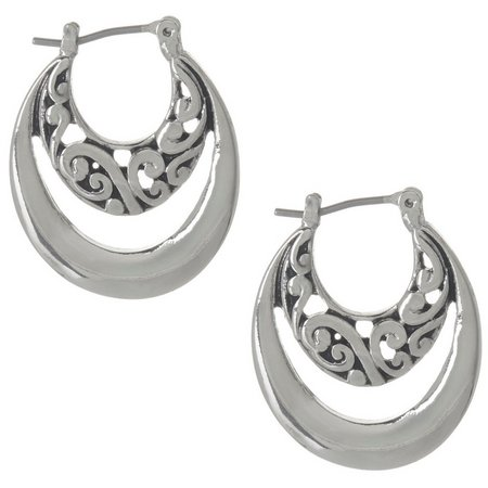 Bay Studio Bali Double Hoop Earrings