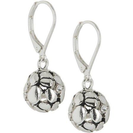 Bay Studio Textured Ball Drop Earrings