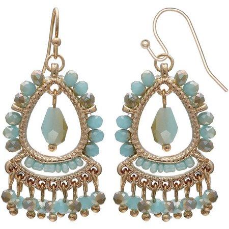 Coral Bay Grecian Small Chandelier Earrings