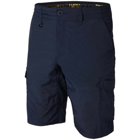New! O'Neill Mens Traveler Cargo Hybrid Shorts