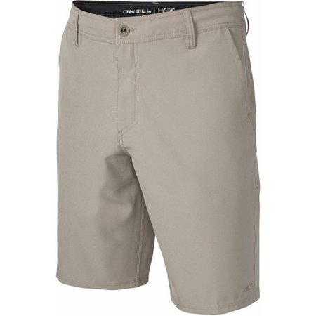 New! O'Neill Mens Loaded Solid Hybrid Shorts