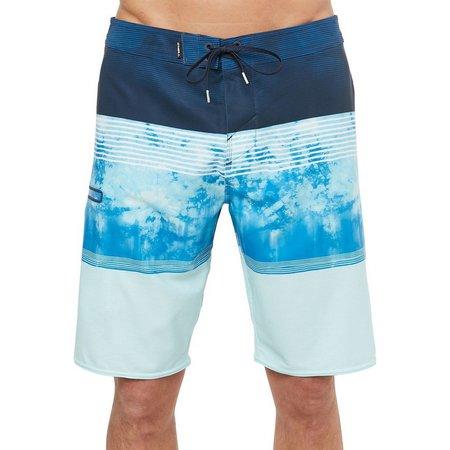O'Neill Mens Dye Stripe Hyperfreak Boardshorts