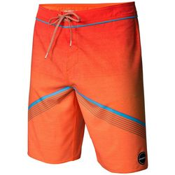 O'Neill Mens Neon Orange Hyperfreak Boardshorts