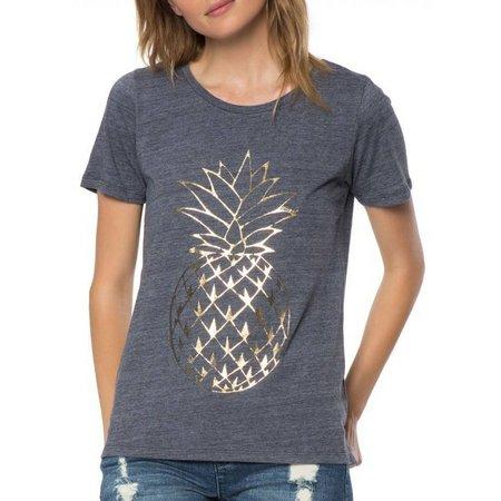 O'Neill Juniors Pineapple Print SreenT-Shirt