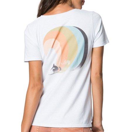 O'Neill Juniors Rainbow Waves T-Shirt