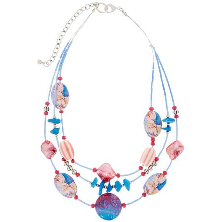 Leoma Lovegrove 3 Row Mozart Illusion Necklace