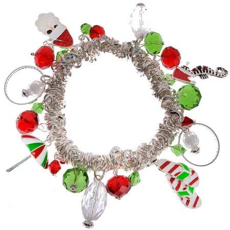 Brighten the Season Florida Santa Charm Bracelet