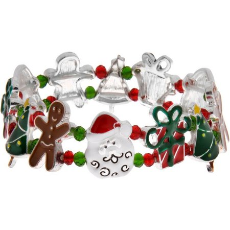 Brighten the Season Holiday Stretch Bracelet
