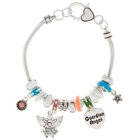 Be Charmed Guardian Angel Charm Bracelet