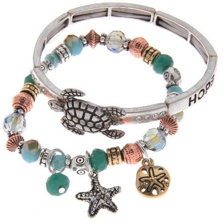Believe In Sea Turtle, Starfish & Sand Dollar