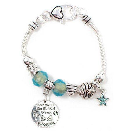 Be Charmed Love You To The Beach Charm