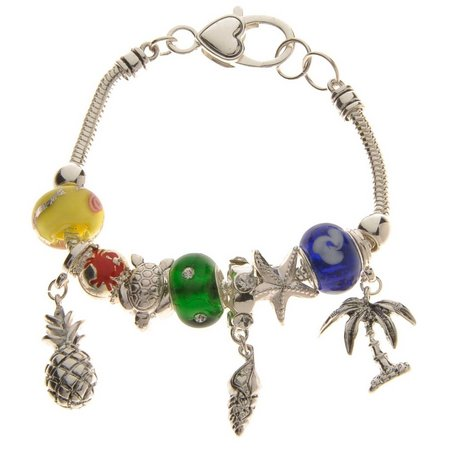 Be Charmed Sea Life & Tropical Beaded Charm