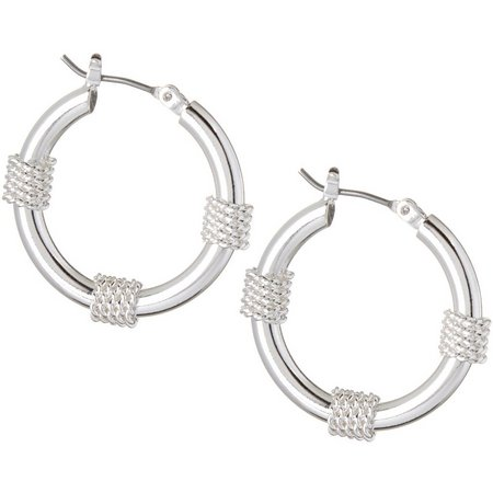 Napier Wrap Hoop Earrings