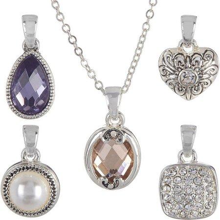Napier 5-pc. Faux Pearl & Stone Necklace Set