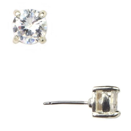 Anne Klein Clear Cubic Zirconia Stud Earrings