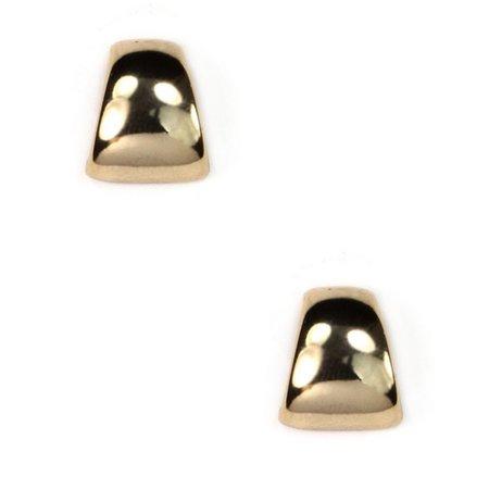 Anne Klein Gold Tone Post Back Earrings