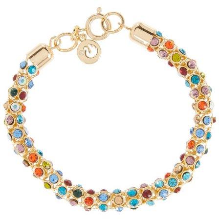 Gloria Vanderbilt Multi Mesh Chain Bracelet