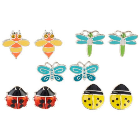 Bay Studio Multiples 5-pc. Critter Stud Earring Set