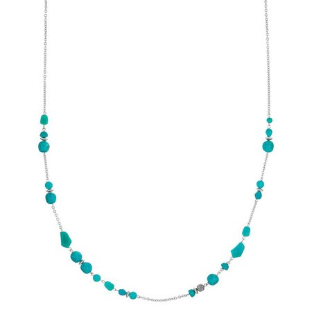 Sakroots Turquoise Blue Beaded Necklace