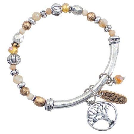 PIPER MADISON Tree Of Life Charm Bracelet