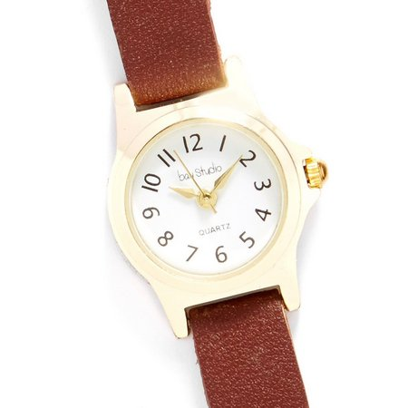 Bay Studio Womens EZ Read Skinny Strap Watch
