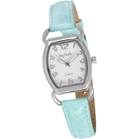 Bay Studio Womens Blue Strap Watch
