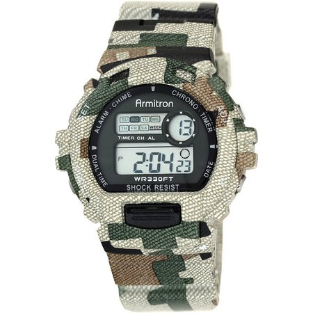 Armitron Mens Digital Multifunction Camo Watch