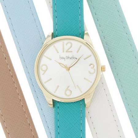 Bay Studio Womens Large Dial & Numbers Watch