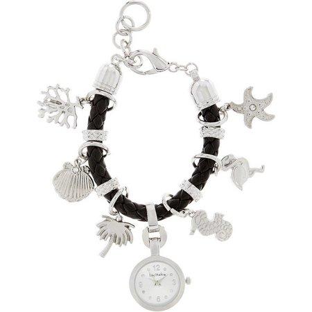 Bay Studio Sealife Charm Bracelet Watch