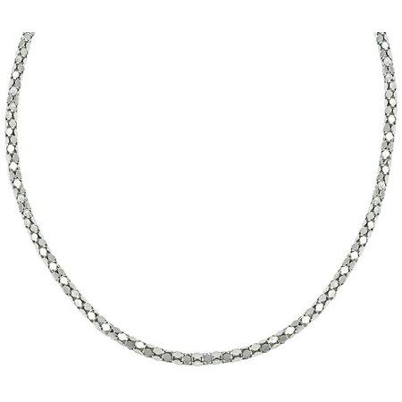Signature 18 in. Popcorn Chain Necklace