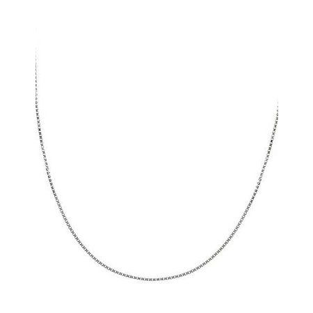Signature Sterling Box Link Necklace