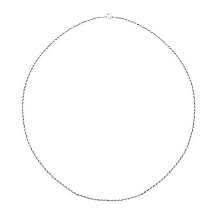Signature Sterling Diamond Cut Necklace