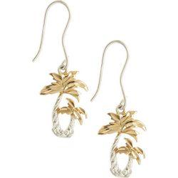 Signature Two Tone Palm Tree Earrings