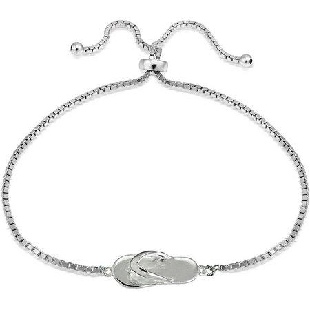 Signature Sterling Silver Sandle Slide Bracelet