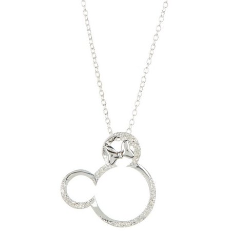 Disney Minnie Open Face Pendant Necklace