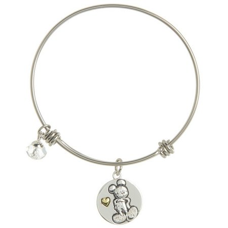 Disney Mickey Heart Never Stop Dreaming Bangle