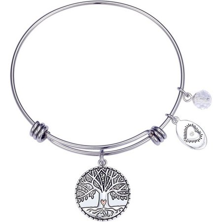 Footnotes Family The Roots Of Love Charm Bangle