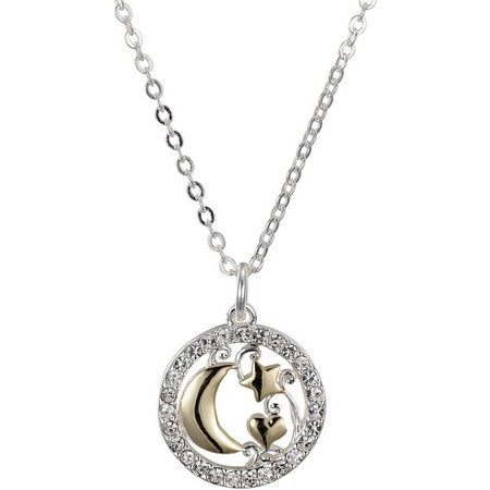 Footnotes Love You To The Moon Pendant Necklace