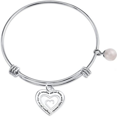 Footnotes Daughters Fill Our Hearts Bracelet