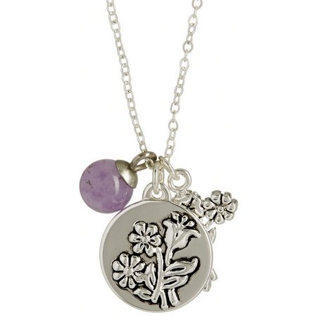 Footnotes If Daughters Were Flowers Necklace
