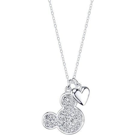 Disney I Love Mickey Pendant Necklace
